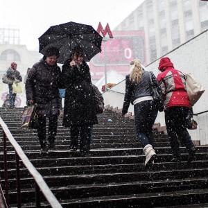 автосервис в Одинцово, автосервис в Горках, автосервис на Рублевке - первый снег