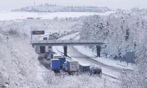 автосервис в Одинцово, автосервис в Горках, автосервис на Рублевке - первый снег2